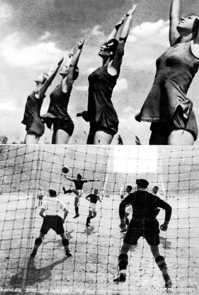 Cine: OLIMPIADA II LA FIESTA DE LA BELLEZA FOLLETO GUÍA ORIGINAL ÉPOCA 1936 LENI RIEFENSTAHL ADOLF HITLER - Foto 5 - 183842792