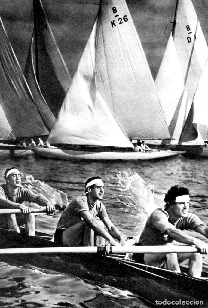 Cine: OLIMPIADA II LA FIESTA DE LA BELLEZA FOLLETO GUÍA ORIGINAL ÉPOCA 1936 LENI RIEFENSTAHL ADOLF HITLER - Foto 6 - 183842792