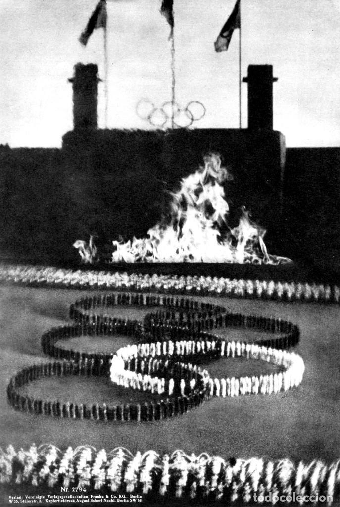 Cine: OLIMPIADA II LA FIESTA DE LA BELLEZA FOLLETO GUÍA ORIGINAL ÉPOCA 1936 LENI RIEFENSTAHL ADOLF HITLER - Foto 8 - 183842792