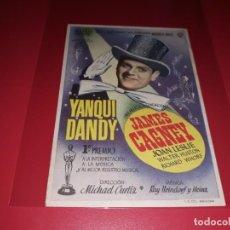 Cine: YANQUI DANDY. SIN PUBKLICIDAD. AÑO 1942. Lote 183846298