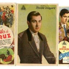 Cine: CURRITO DE LA CRUZ, CON JORGE MISTRAL. Lote 183866711