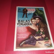 Cine: BALAS VENGADORAS. SIN PUBLICIDAD. AÑO 1949. Lote 183930726