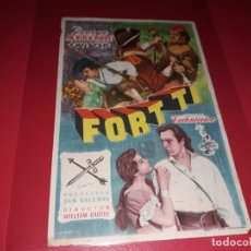 Cine: FORT TI. SIN PUBLICIDAD. AÑO 1953. Lote 183934070