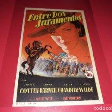 Cine: ENTRE DOS JURAMENTOS. SIN PUBLICIDAD. AÑO 1950. Lote 183937538