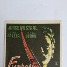 Cine: PROGRAMA DE MANO AÑO 1960 EXPRESO DE ANDALUCIA JORGE MITRAL, MARA BERNI, VICENTE PARRA ROVIRA BELETA. Lote 184000345