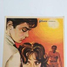 Cine: PROGRAMA DE MANO AÑO 1961 A PLENO SOL ALAIN DELON, MARIE LAFORET, RENE CLEMENT, MAURICE RONET. Lote 184001776