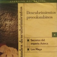 Cine: DESCUBRIMIENTOS PRECOLOMBINOS DVD. Lote 184255672