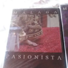 Cine: LOTE DE 4 DVD - 3 MÁLAGA PASIONISTA Y 1 PASIÓN POR GRANADA CAPITULO X.. Lote 184355795
