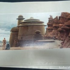 Cine: STAR WARS RETURN OF THE JEDI. RALPH MCQUARRIE PORTFOLIO. 20 LAMINAS.. Lote 184439487