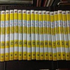 Cine: LOTE COLECCION 21 DVD PIPI CALZASLARGAS AÑO 2003 EDICIONES RBA. Lote 184472602