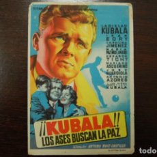 Cine: KUBALA, LOS ASES BUSCAN LA PAZ. Lote 184642045