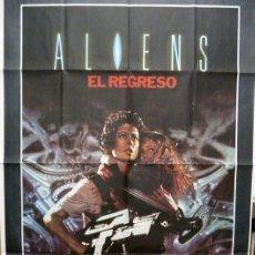 Cine: ALIENS, EL REGRESO. POSTER. Lote 184651068