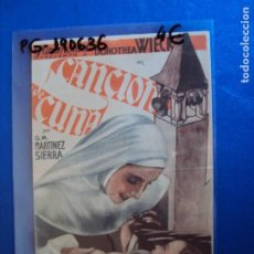 Cine: (PG-190636)PROGRAMA DE CINE - CANCION DE CUNA - CINE RAMBLA. Lote 184786123