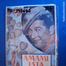 Cine: (PG-190630)PROGRAMA DE CINE - AMAME ESTA NOCHE - CINE RAMBLA. Lote 184786891