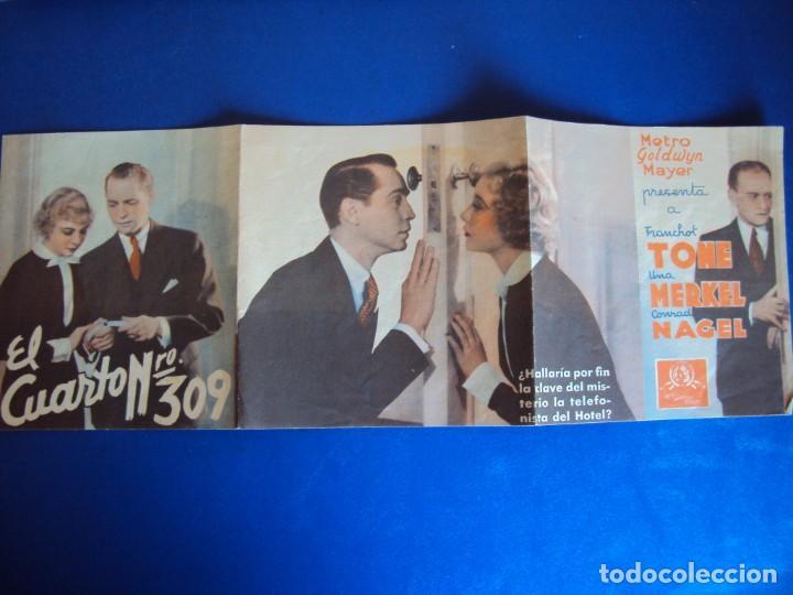 Cine: (PG-190605)PROGRAMA DE CINE - EL CUARTO Nº309 - CINE RAMBLA - AÑO 1936 - Foto 2 - 184791665