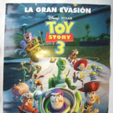 Cine: TOY STORY 3. POSTER 68,5 X 98,5 CMS. 2010.. Lote 184801255