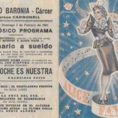 Cine: MILLONARIO A SUELDO DOBLE CP . Lote 184951171