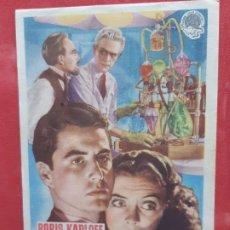 Cine: LA HORCA FATAL-SIN PUBLICIDAD. Lote 185982607