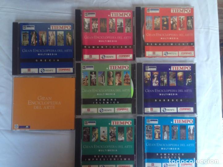 COLECCION CD MULTIMEDIA: GRAN ENCICLOPEDIA DEL ARTE - COLECCION (Cine - Folletos de Mano - Documentales)