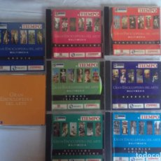 Cine: COLECCION CD MULTIMEDIA: GRAN ENCICLOPEDIA DEL ARTE - COLECCION. Lote 186094730