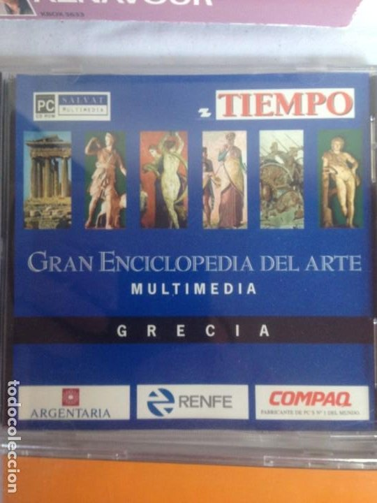 Cine: COLECCION CD Multimedia: Gran Enciclopedia del Arte - COLECCION - Foto 9 - 186094730