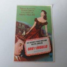 Cine: ODIO Y ORGULLO-SIN PUBLICIDAD. Lote 186113592