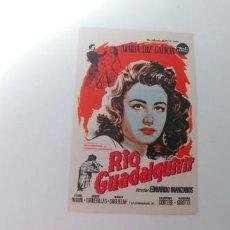 Cine: RIO GUADALQUIVIR-MARIA LUZ GALICIA-CON PUBLICIDAD. Lote 186114215