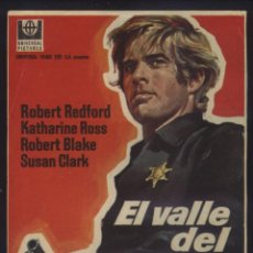 Cine: P-7003- EL VALLE DEL FUGITIVO (TELL THEM WILLIE BOY IS HERE) ROBERT REDFORD - KATHARINE ROSS. Lote 186164830