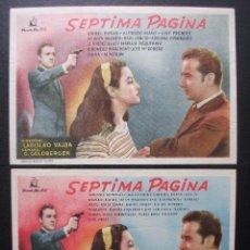 Cine: SÉPTIMA PÁGINA, RAFAEL DURÁN, VARIANTE. Lote 186249836