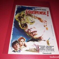 Cine: SUSPENSE. PUBLICIDAD AL DORSO. AÑO 1961. Lote 186396220