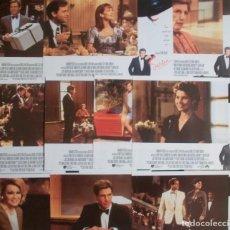 Cine: LOTE DE 10 AFICHES/FOTOCROMOS DE LA PELÍCULA SABRINA (Y SUS AMORES). 1995. CON HARRISON FORD. Lote 186429327