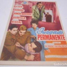 Cine: PROGRAMA O FOLLETO DE CINE SIN PUBLICIDAD - JUZGADO PERMANENTE - 3. Lote 186434085