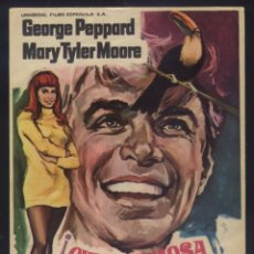Cine: P-3005- QUE HERMOSA ES LA VIDA (WHAT'S SO BAD ABOUT FEELING GOOD) GEORGE PEPPARD - MARY TYLER MOORE. Lote 187189650