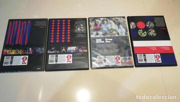 Cine: LOTE 4 DVD F. C. BARCELONA EPOCA GUARDIOLA 2 partidos vs Real Madrid - Foto 2 - 187238743