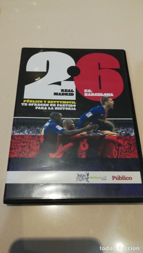 Cine: LOTE 4 DVD F. C. BARCELONA EPOCA GUARDIOLA 2 partidos vs Real Madrid - Foto 4 - 187238743