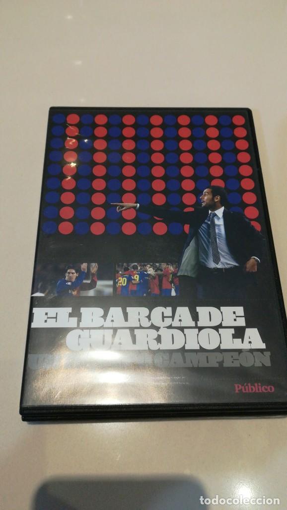 Cine: LOTE 4 DVD F. C. BARCELONA EPOCA GUARDIOLA 2 partidos vs Real Madrid - Foto 5 - 187238743