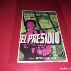 Cine: EL PRESIDIO. AÑO 1954. SIN PUBLICIDAD. Lote 187377755