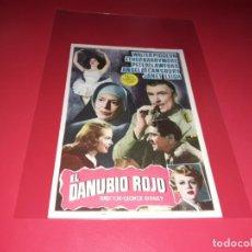 Cine: EL DANUVIO ROJO.AÑO 1949. SIN PUBLICIDAD. Lote 187378862