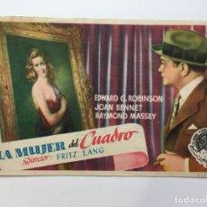 Cine: LA MUJER DEL CUADRO - PROGRAMA DE CINE BADALONA C/P. Lote 187379308