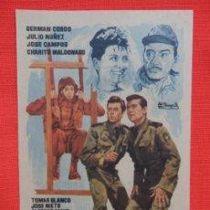 Cine: UN PASO AL FRENTE, IMPECALBE SENCILLO, GERMAN COBOS, C/PUBLI T. CIRCO S. NOVEDADES 1960. Lote 187379968