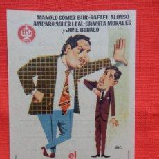 Cine: EL GRANO DE MOSTAZA, IMPECABLE SENCILLO, MANOLO GOMEZ BUR, C/PUBLI S. NOVEDADES 1963. Lote 187383440