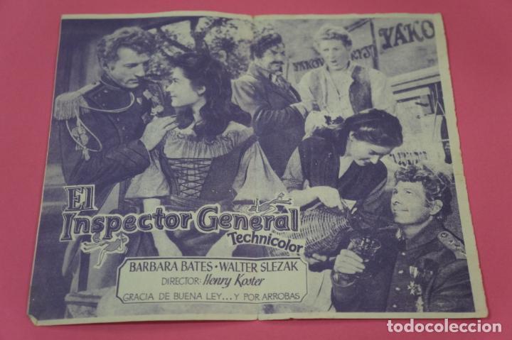 Cine: FOLLETO DE MANO PROGRAMA DE CINE DANNY KAYE CON PUBLICIDAD LOTE 26 - Foto 2 - 187393000