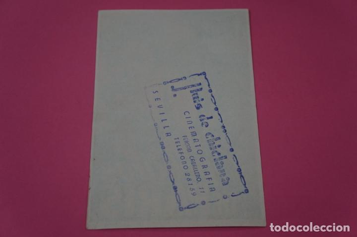 Cine: FOLLETO DE MANO PROGRAMA DE CINE LOS PELIGROS DE PARIS CON PUBLICIDAD LOTE 26 - Foto 2 - 187396847