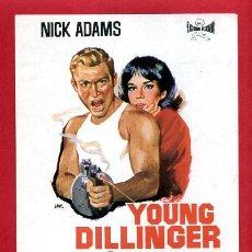 Cine: YOUNG DILLINGER SENCILLO SIN CINE ORIGINAL PMD 1175. Lote 187445448