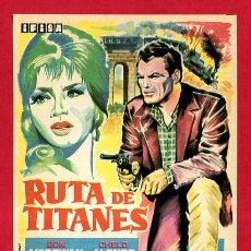 Cine: RUTA DE TITANES SENCILLO SIN CINE ORIGINAL PMD 1186. Lote 187446702