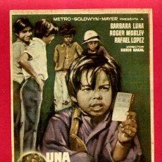 Cine: UNA MONEDA CON AUREOLA SENCILLO SIN CINE ORIGINAL PMD 1193. Lote 187447242