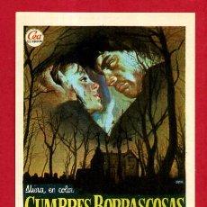 Cine: CUMBRES BORRASCOSAS SENCILLO SIN CINE ORIGINAL PMD 1200. Lote 187447796
