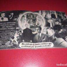 Cine: FOLLETO DOBLE BALARRASA CON FERNANDO FERNAN GOMEZ . AÑO 1951. Lote 187456002