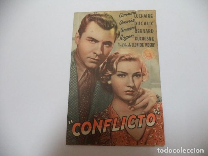 PROGRAMA CINE CONFLICTO (Cine - Folletos de Mano - Comedia)