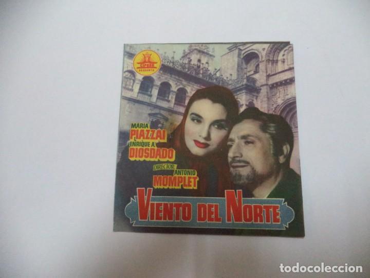 PROGRAMA CINE. VIENTO DEL NORTE (Cine - Folletos de Mano - Comedia)
